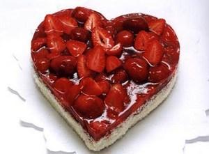 Романтический торт на День Святого Валентина как испечь? Рецепт?