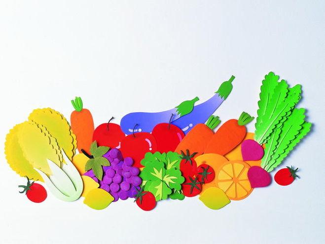 Аппликации из овощей своими руками