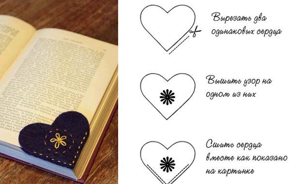 Красивые закладки для книг из бумаги
