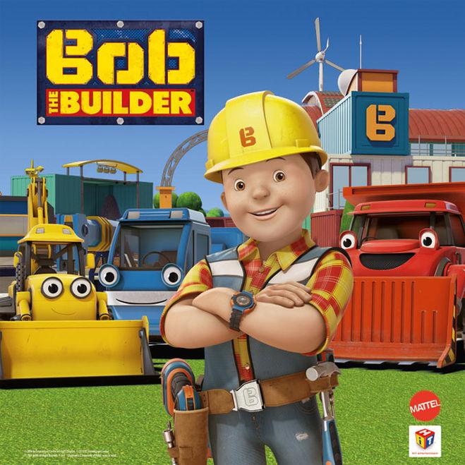 Как зовут персонажей из мультфильма Боб строитель