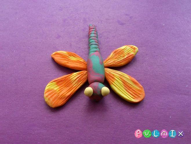 Поделки из пластилина стрекоза
