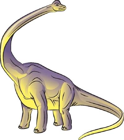 У этого динозавра