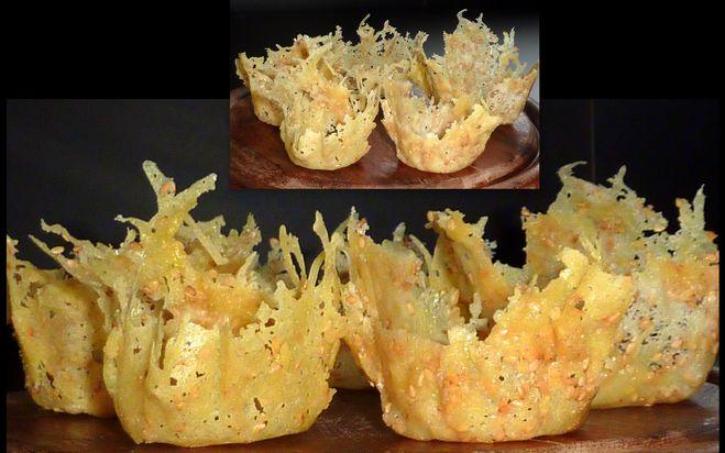 Сырные корзинки рецепт с фото пошагово