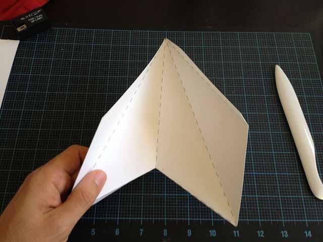 Как сделать верхушку из бумаги