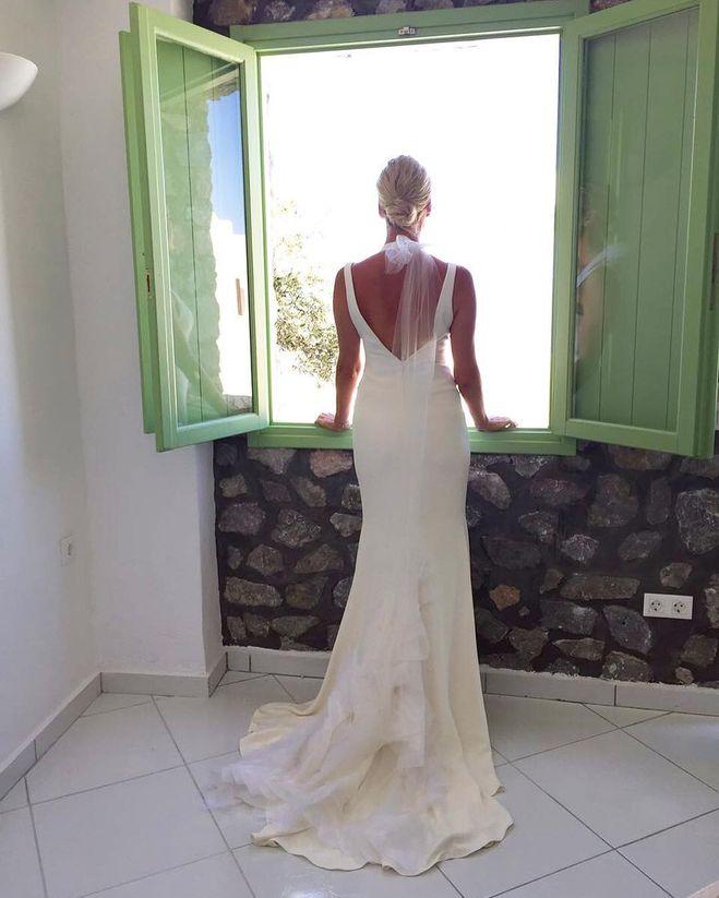 Фото елены летучей в свадебном платье