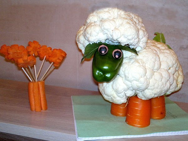 Поделки как сделать капусту