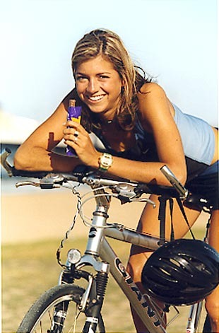 Оргазм при езде на велосипеде
