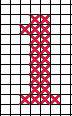 """вышивка с цифрой """"1"""" схема"""