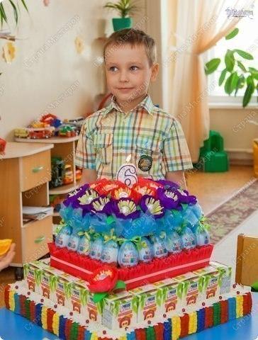 Как сделать торт ребёнку