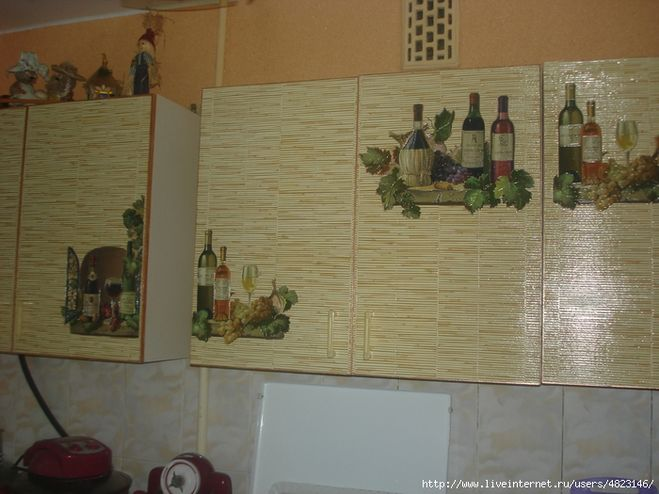Реставрируем старую кухню своими руками 98