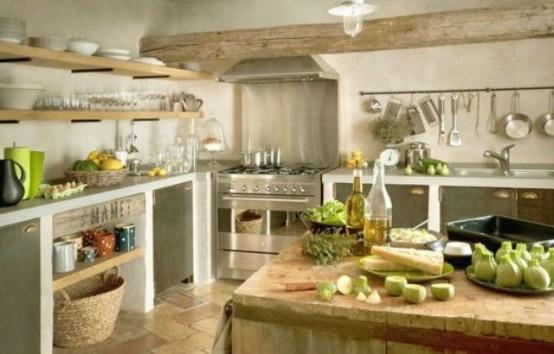 кухня стиль интерьера прованс
