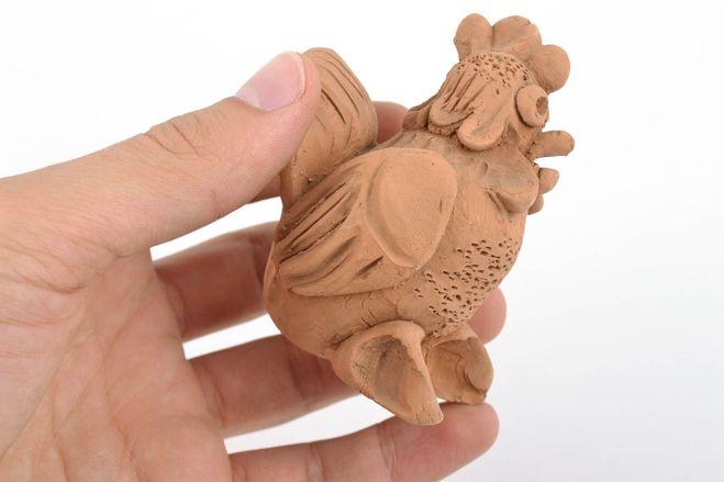 петушок из глины