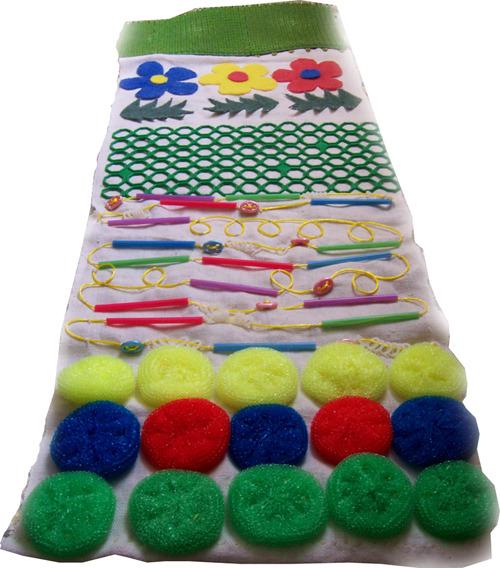 Развивающие коврики своими руками для ног