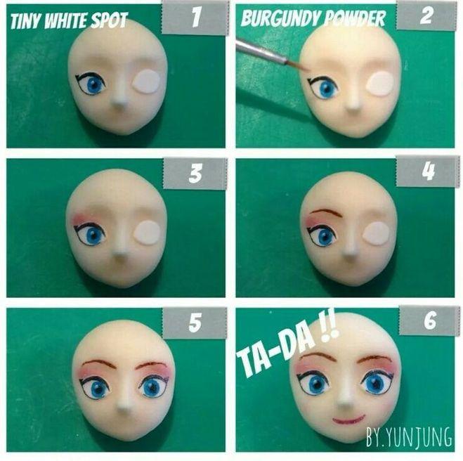 Как сделать ободок для куклы 14