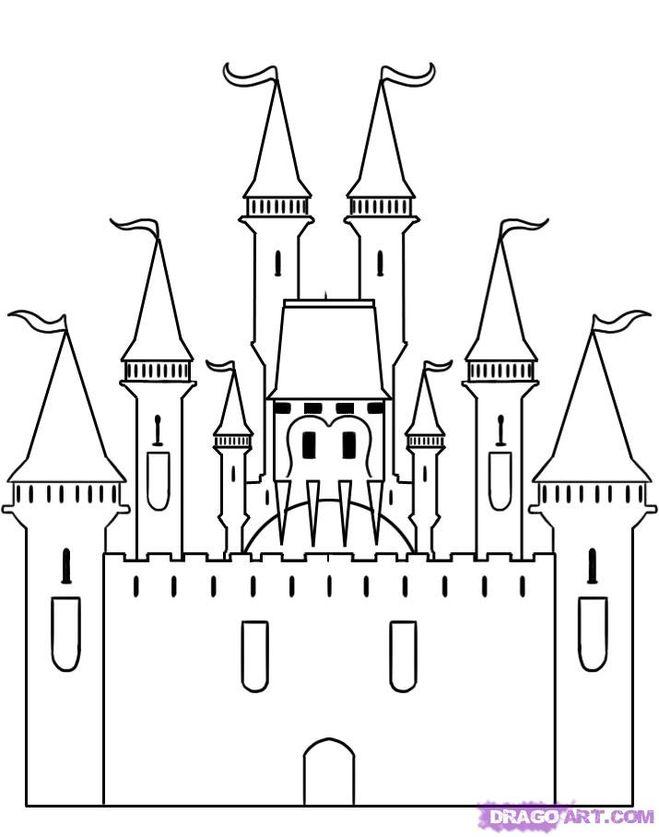 Рисунки дворца поэтапно