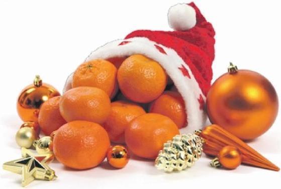 мандарины, Россия, Новый год, история праздника