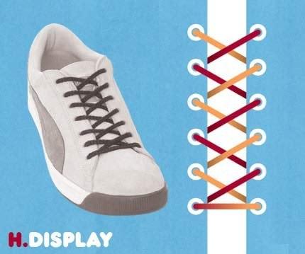 как завязывать шнурки, самый простой способ
