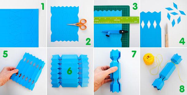 Подарочная упаковка для конфет из бумаги
