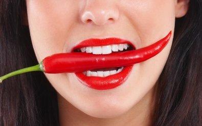Продукты необходимые для нейтрализации жжения красного перца.