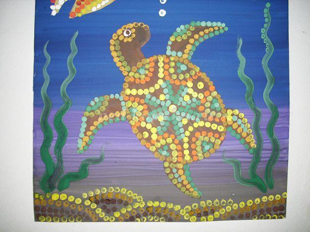 Как рисовать морского дна