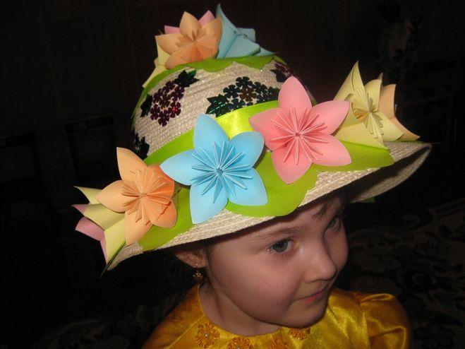 Детские шляпы украшенные своими руками