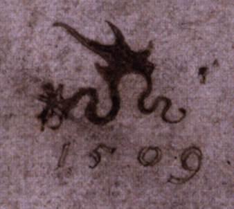 Монограмма Лукаса Кранаха старшего подпись на картинах