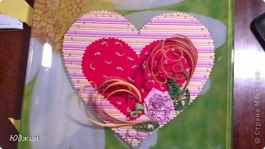 Валентинка из бумаги