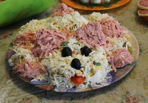 """салат """"Собака"""""""