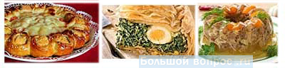 блюда на Пасху
