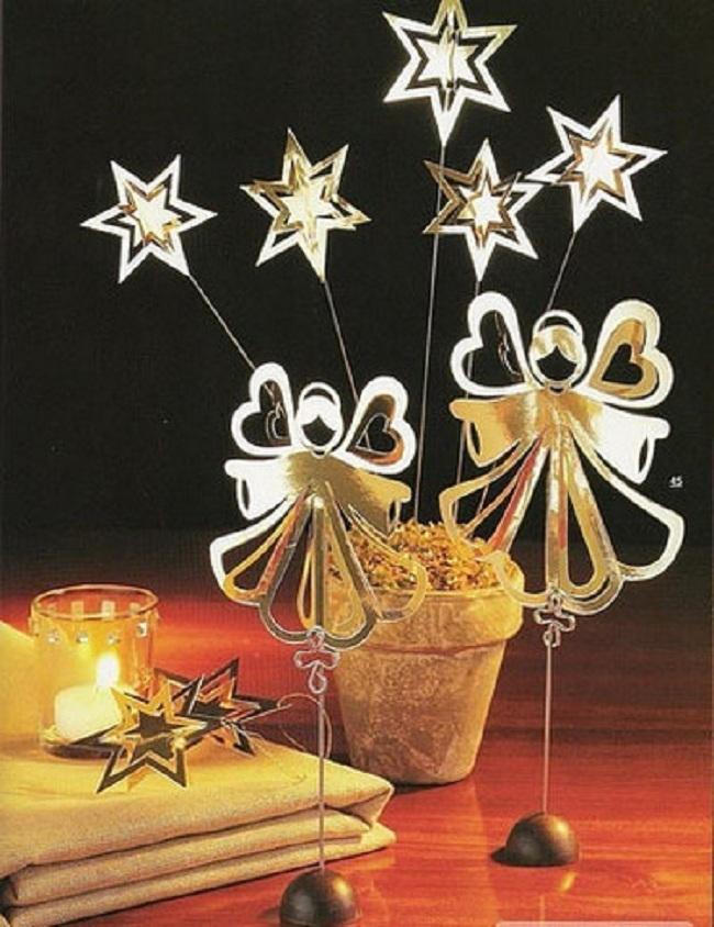 Новогодняя рождественская поделка своими руками