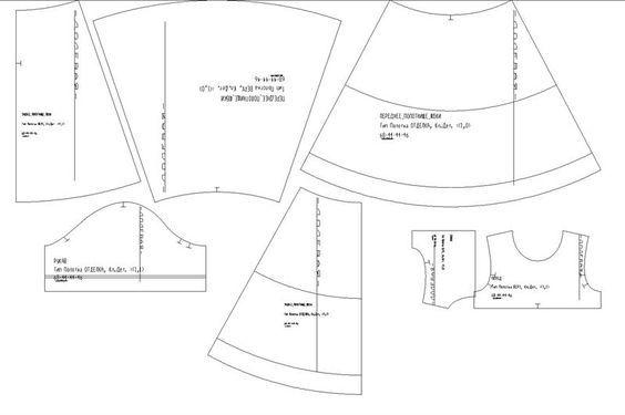 Выкройка крестильной рубашки для малыша фото 671