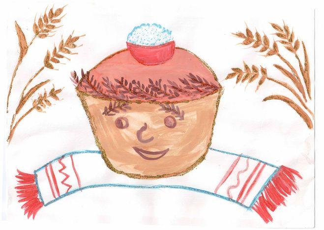 Поделки на тему хлеб всему голова в детский сад фото