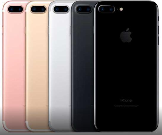 Какие цвета айфон 7 плюс