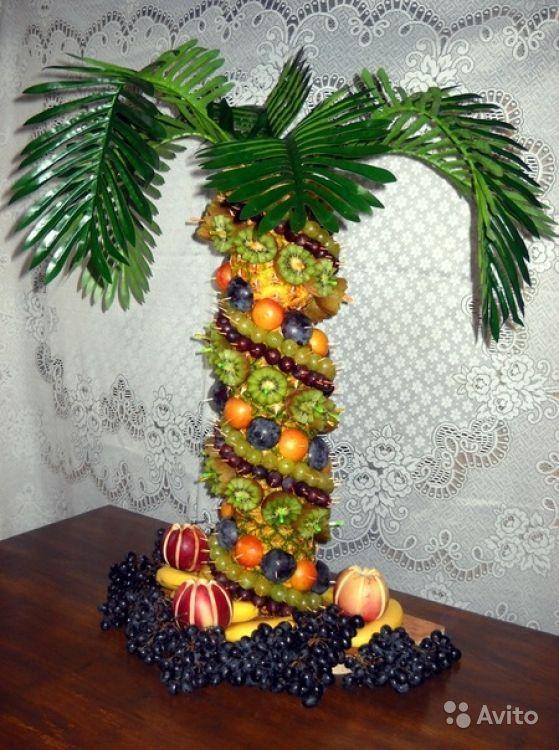 Как сделать фруктовую пальму