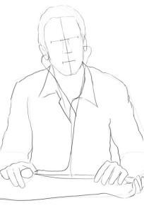 нарисовать врача 2