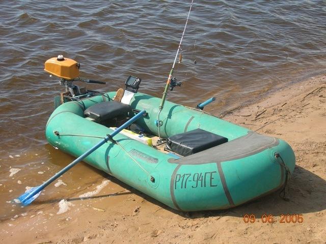 как сделать резиновую лодку своими руками фото