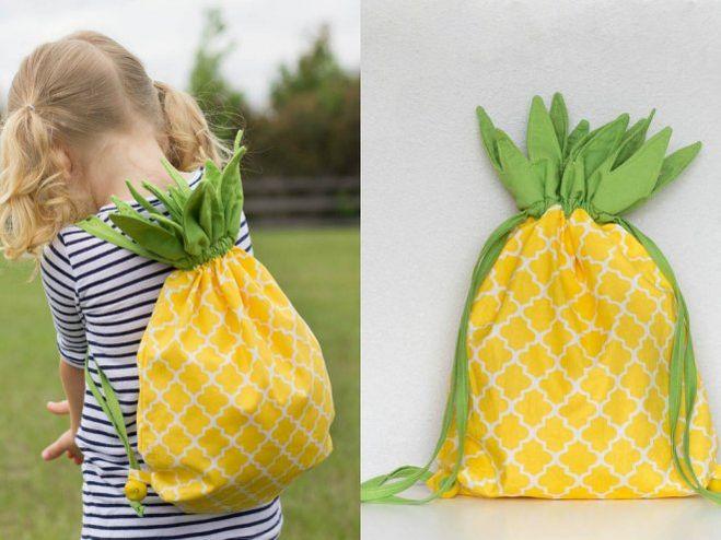 Рюкзак для ребенка своими руками выкройка фото 807