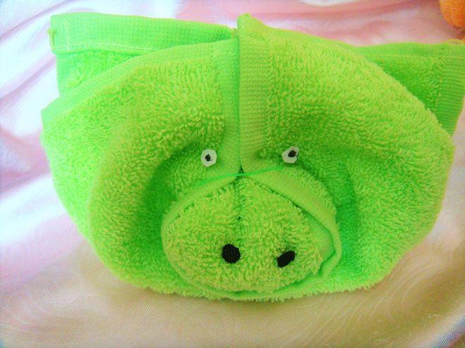хрюша из полотенца в подарок на новый год свиньи 2019