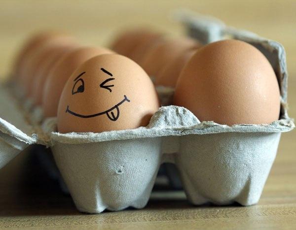 картинка смешных яиц