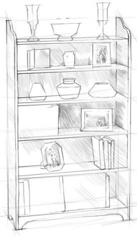 Рисуем шкаф 3