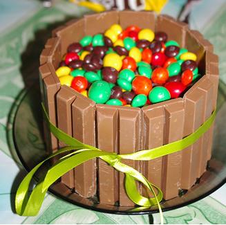 как приготовить торт с шоколадками