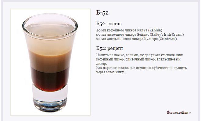 Алкогольные коктейли в домашних условиях рецепты с водкой и