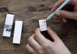 Как сделать печать своими руками в домашних условиях видео