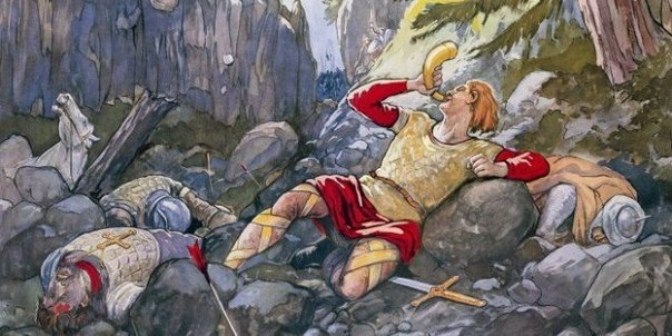 a short review of the song of roland a poem on the battle of roncevaux The song of roland a relatively short epic poem  the historical battle of roncevaux pass was not fought against the muslims at all.