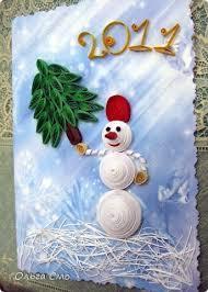 новогодняя открытка своими руками, как сделать новогоднюю открытку