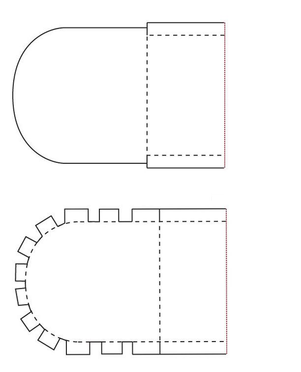 Как сделать бумажный бантик фото 374