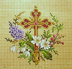 православный крест вышивка своими руками