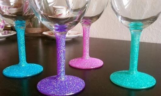 Декор бокалов своими руками на новый год