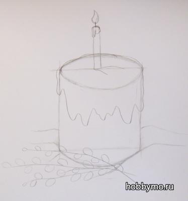 рисуем пасху 4