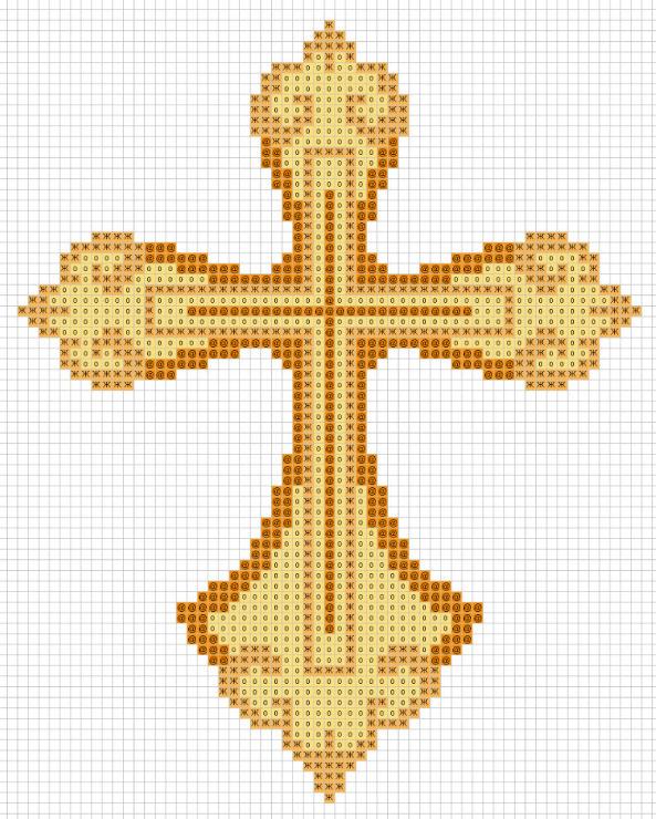Www крест схемы вышивки 393